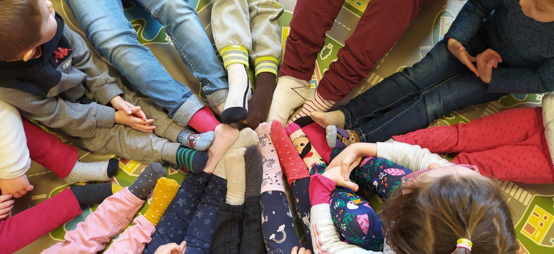 Les chaussettes dépareillées